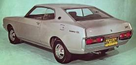 Datsun Laurel (130) Hard Top fra 1973