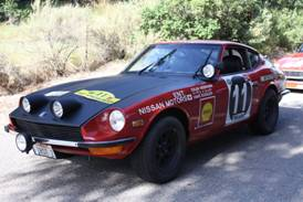240Z Safari Rally
